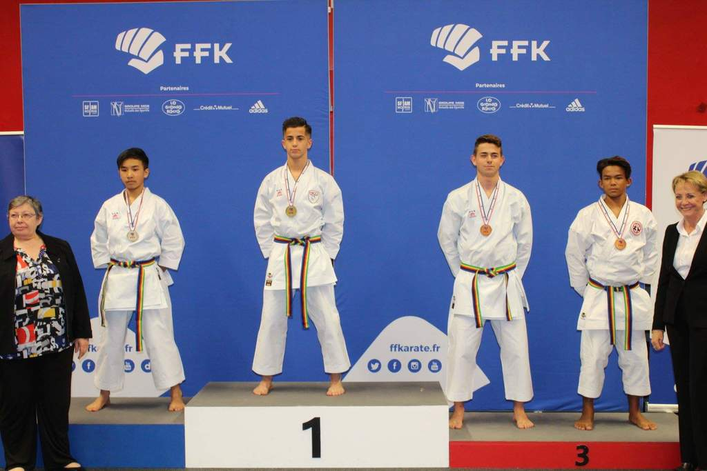 Haron Weiss champion de France 2019